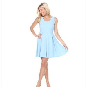 Cystal fit and flare dress